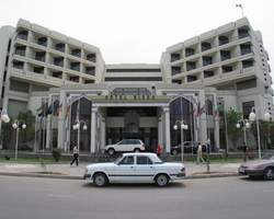Nissa Hotel Ashgabat Turkmenistan