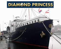 Floatel Diamond Princess Hotel Antwerp Belgium